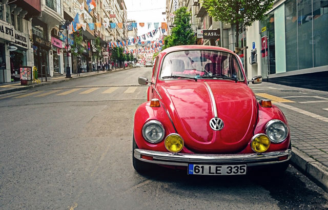 Conservación de la pintura de los coches