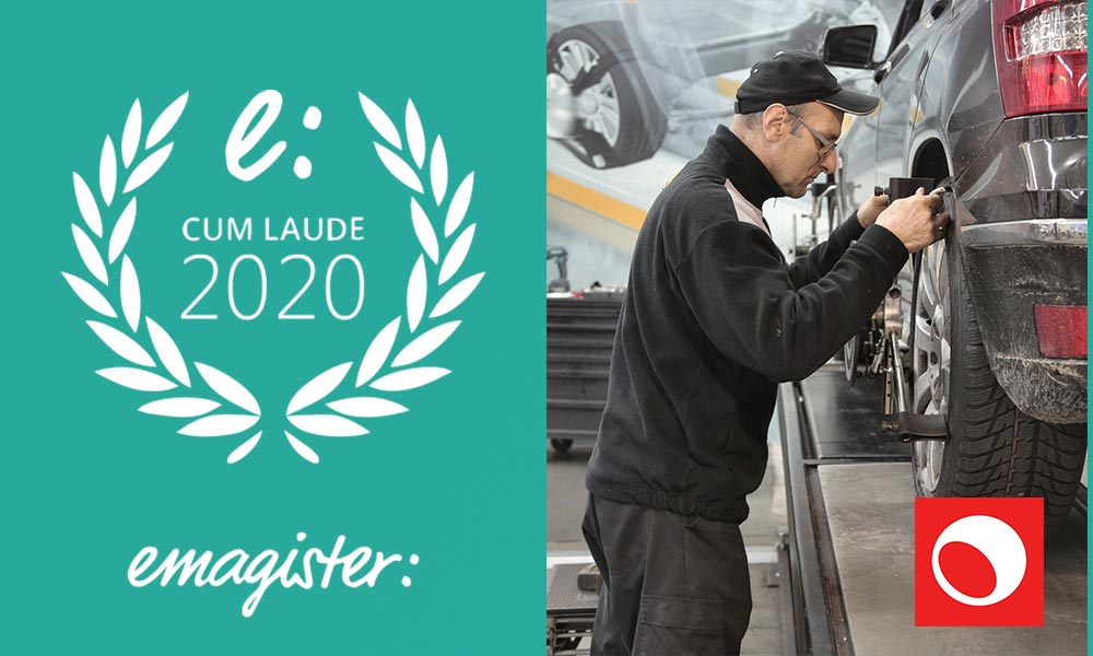 La escuela Europea del Automóvil recibe el Sello Cum Laude 2020
